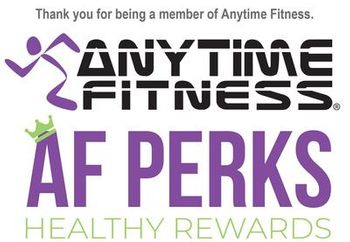 Anytime Fitness - AF PERKS